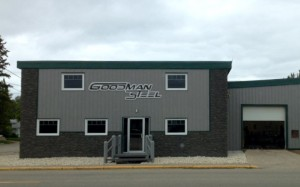 Goodman Steel's Machine Shop